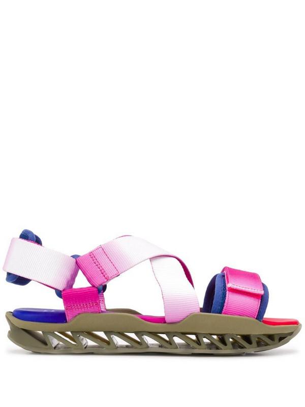 Camper x Bernhard Willhelm Himalayan sandals in pink