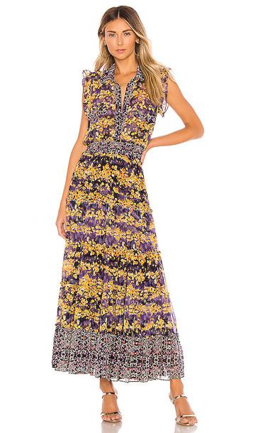MISA Los Angeles X REVOLVE Trina Dress in Yellow