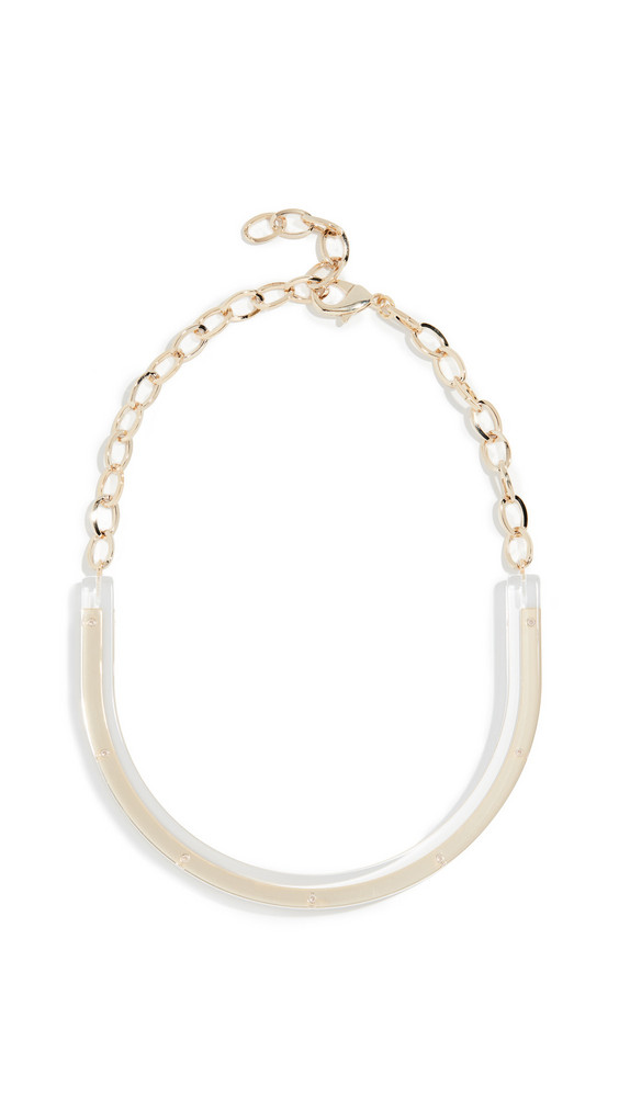 Diana Broussard Aurora Necklace in clear