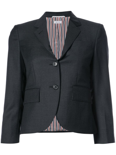 Thom Browne single-breasted sport coat in grey