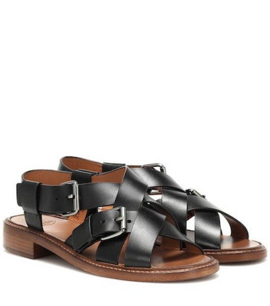 Church's Bliss leather sandals in black