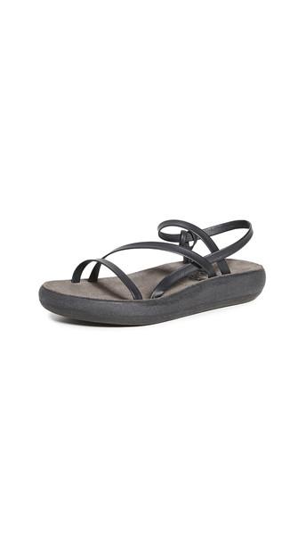 Ancient Greek Sandals Dimitra Comfort Sandals in black