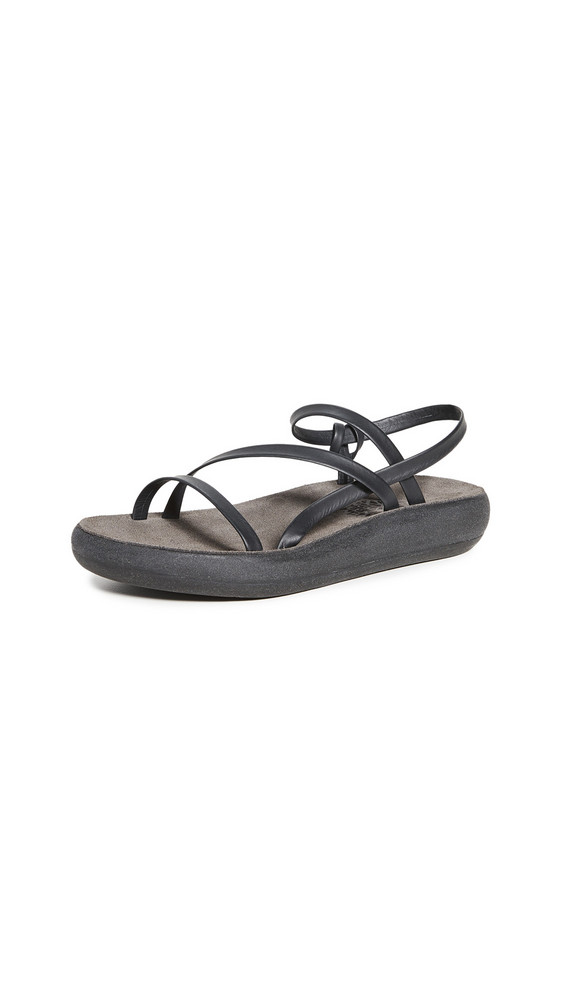 Ancient Greek Sandals Dimitra Comfort Sandals in black