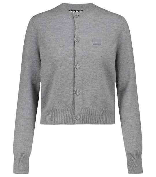 Acne Studios Wool cardigan in grey