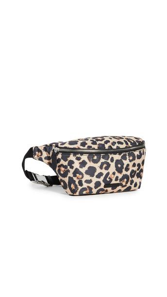 Loeffler Randall Sophie Nylon Belt Bag in leopard