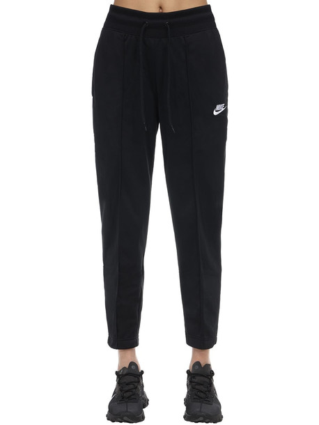 NIKE Acetate Track Pants in black