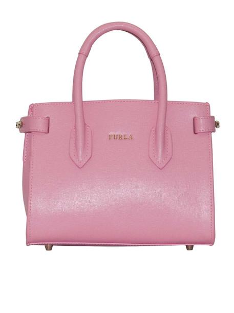 Furla Logo Hand Bag