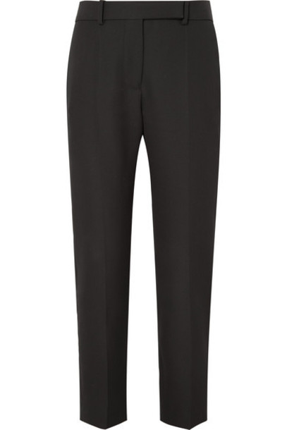 Haider Ackermann - Grain De Poudre Wool Tapered Pants - Black