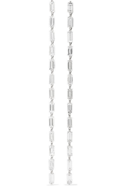 Anita Ko - 18-karat White Gold Diamond Earrings