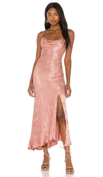 ASTR the Label Gaia Dress in Pink in rose