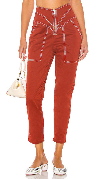 Tularosa The Solana Pant in Red