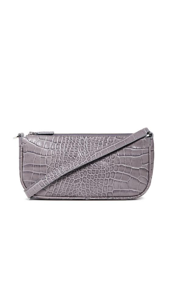 By Far Rachel Baguette Bag in grey