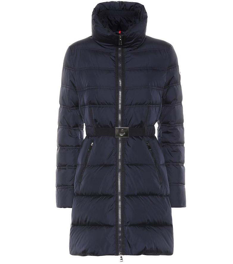 Moncler Accenteur down coat in blue