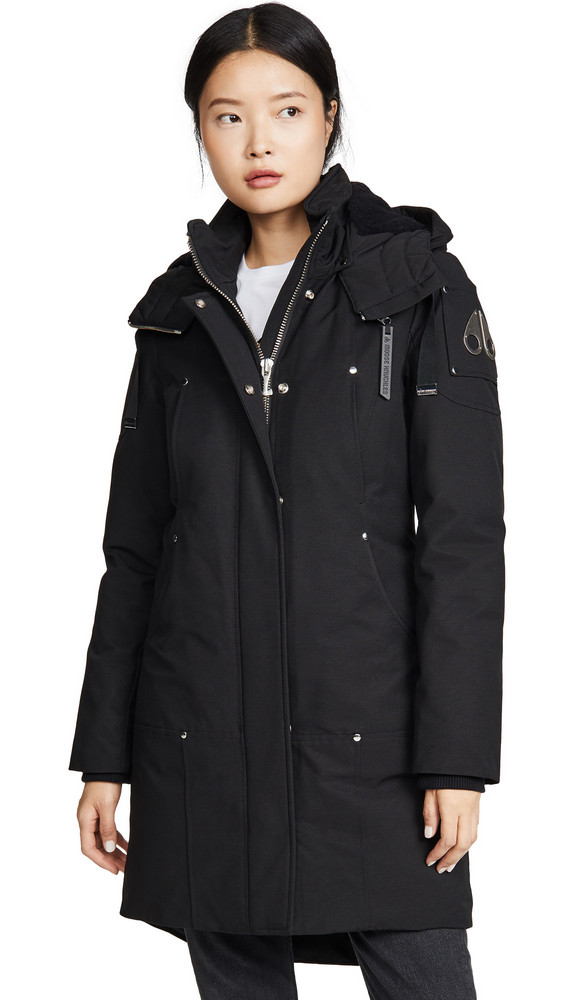 Moose Knuckles Longue Rive Parka in black