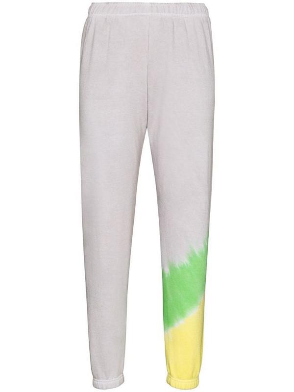 Maisie Wilen Glow tie-dye track pants in neutrals