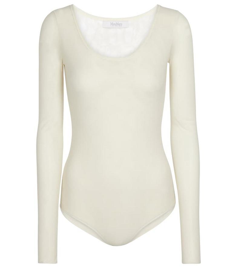 Max Mara Leisure Carnet bodysuit in white