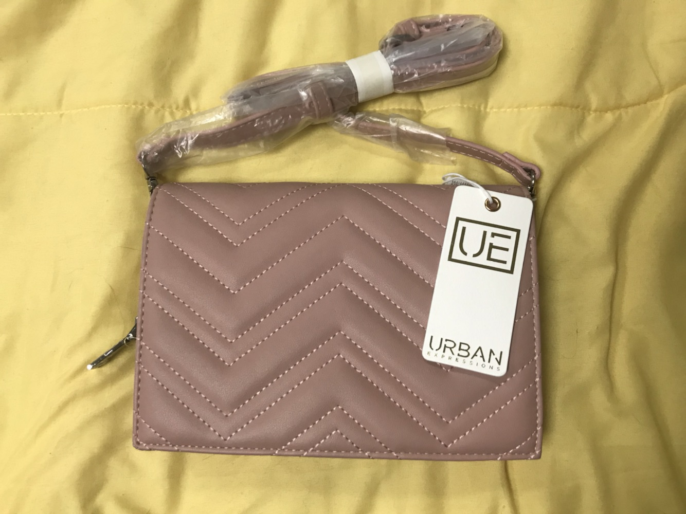 bag urban expressions clutch crossbody bag pink