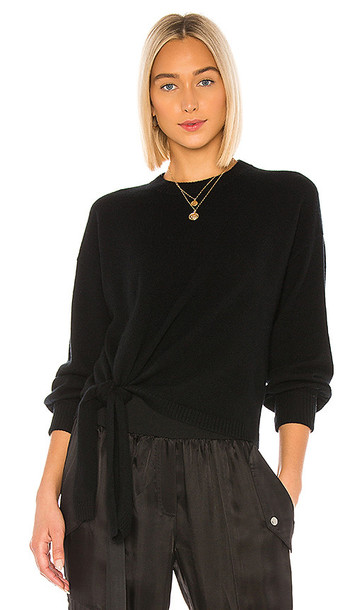 Cinq a Sept Clerisa Pullover in Black