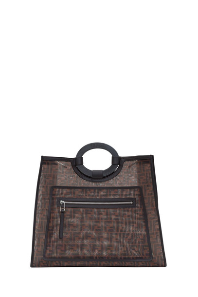 Fendi Ff Mesh Runaway Large Shopping Bag