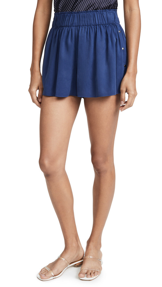 Ramy Brook Dawson Shorts in navy