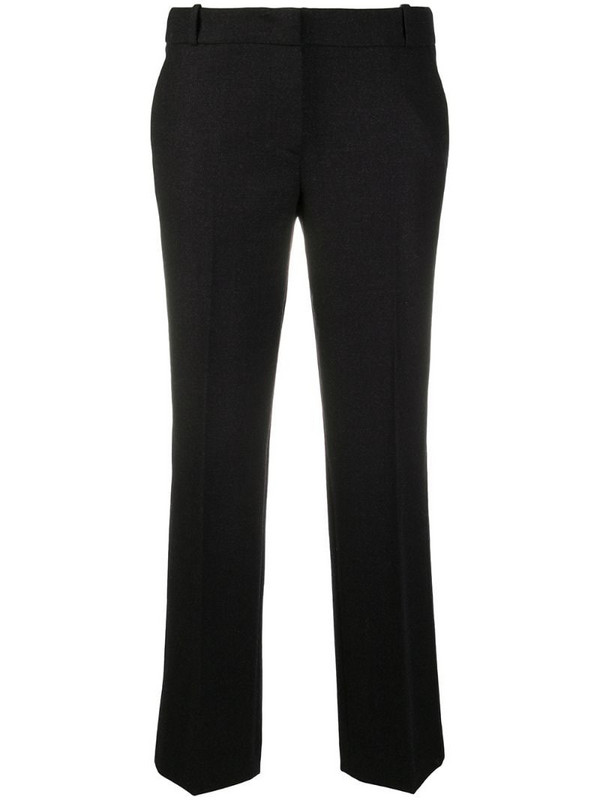 Drumohr cropped tailored trousers in blue