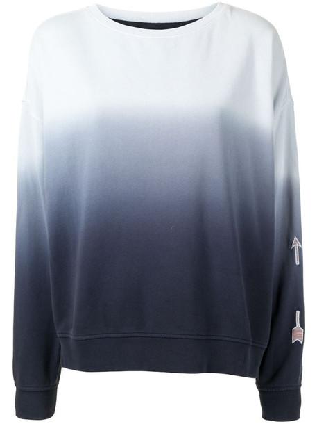 The Upside ombre Alena sweatshirt in blue