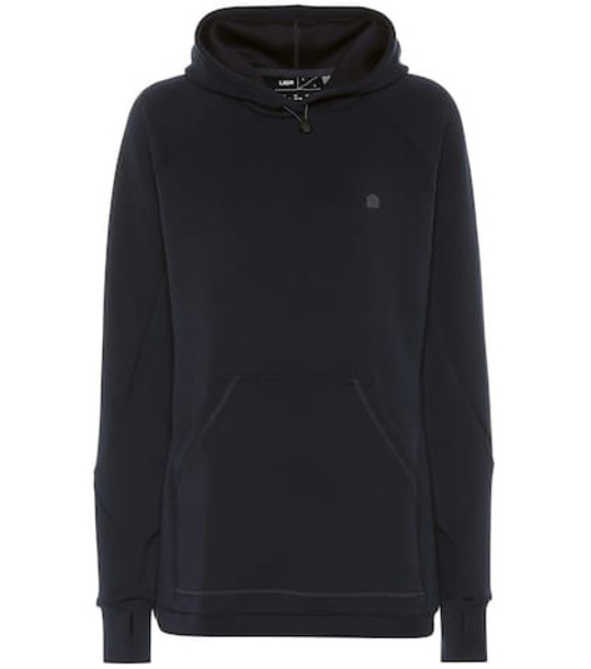 Lndr Smooth Tech hoodie in blue