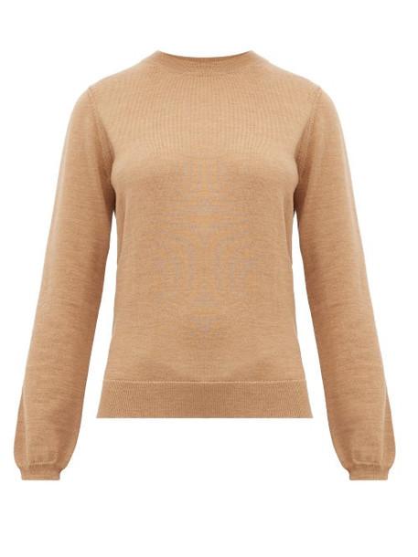 A.P.C. A.p.c. - Savannah Merino Wool Sweater - Womens - Beige