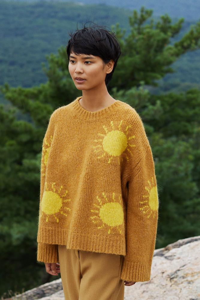 Mansur Gavriel Alpaca Wool Sun Sweater - Sun