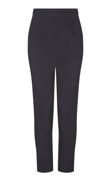 Safiyaa Adrianna Slim Leg Pants Size: 40 in black