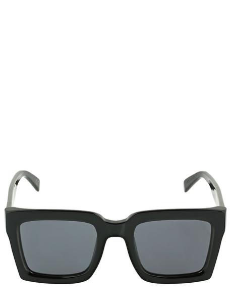 RETROSUPERFUTURE Ancora Black Squared Acetate Sunglasses