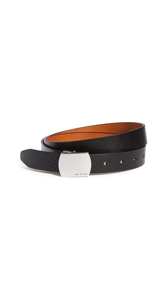 Rag & Bone Fling Belt in black / tan