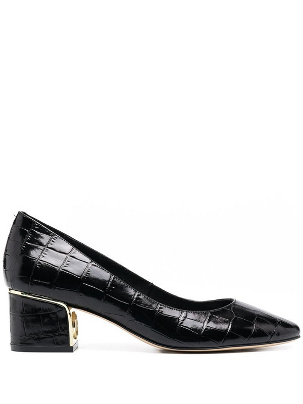Michael Michael Kors Lana 50mm leather pumps in black
