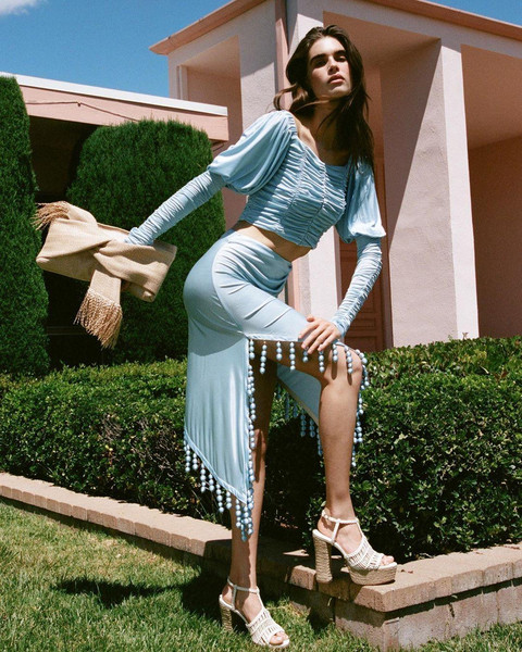 bag shoes skirt top