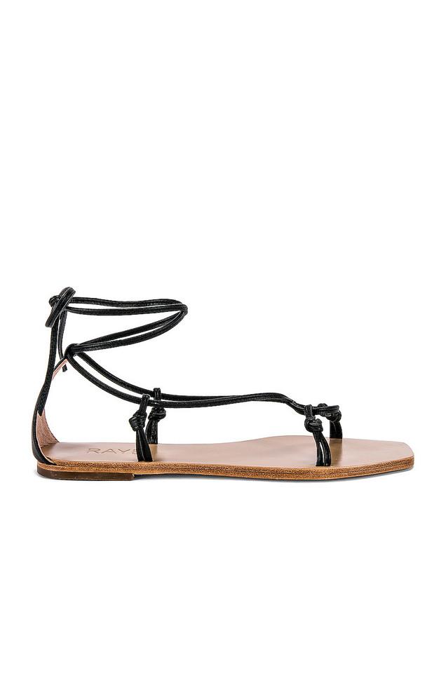 RAYE Omni Sandal in black