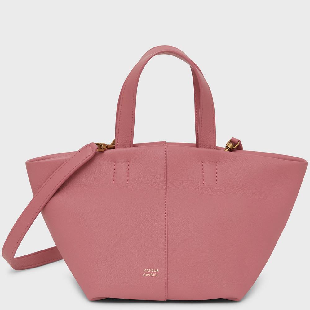 Mansur Gavriel Mini Tulipano Bag - Peony