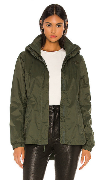 The North Face Resolve Parka II in Olive in taupe / green