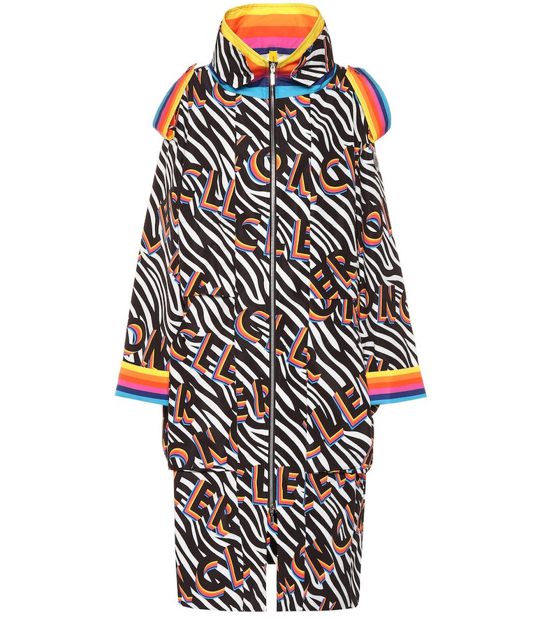 Moncler Genius 0 MONCLER RICHARD QUINN Ava zebra-print puffer coat