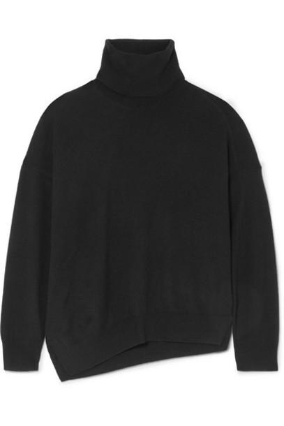 Vanessa Bruno - Melanie Wool And Cashmere-blend Turtleneck Sweater - Black