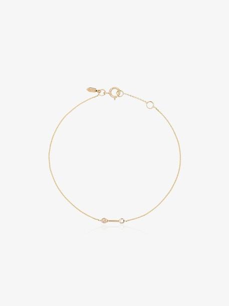 Xiao Wang gold dot dot diamond bracelet