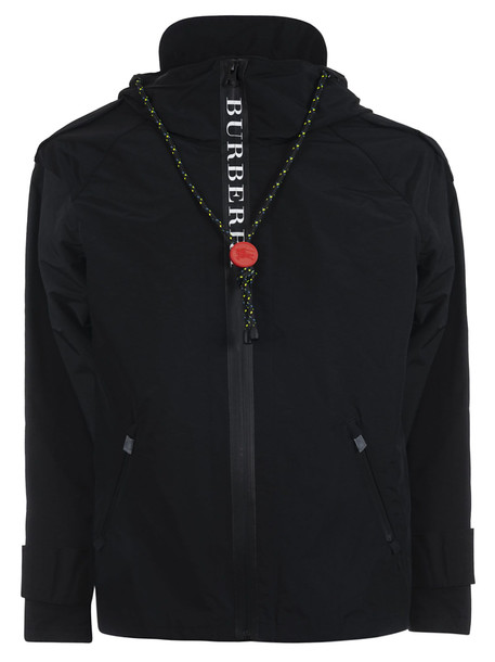 Burberry Hooded Parka in black