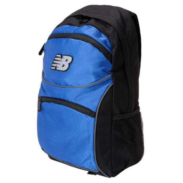 New Balance Men's & Women's Momentum Backpack - Classic Blue, Black, Grey (NB-070CLB)