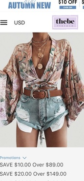 shirt,floral