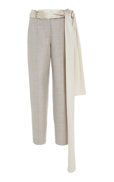 Hellessy Rapunzel Cigarette Trouser Size: 8 in grey