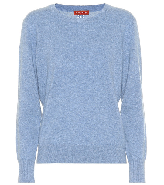 Altuzarra Phillmore cashmere sweater in blue