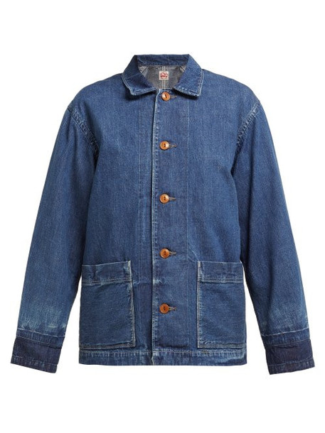 Chimala - Chore Denim Jacket - Womens - Mid Denim