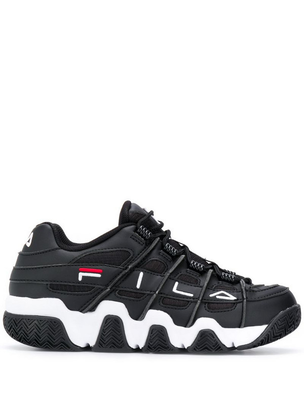 Fila Uproot lace-up sneakers in black