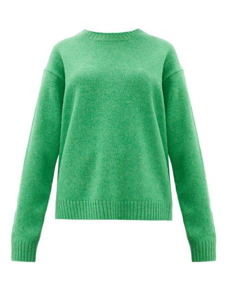 Acne Studios - Samara Wool Sweater - Womens - Green