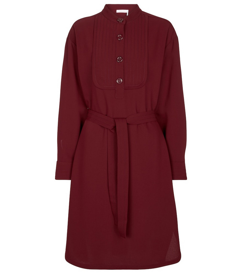 See By Chloé Belted dress in red