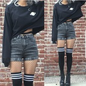 sweater,black,planets,long sleeves,hoodie,long sleeve hoodie,jumper,crop tops,crop top hoodie,grunge,grunge hoodie